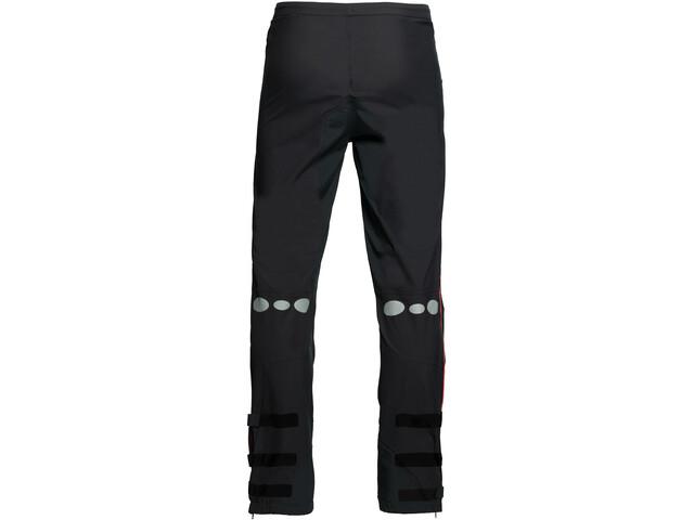 Y by Nordisk Horizon Pantalón de 2,5 Capas, negro/rosa